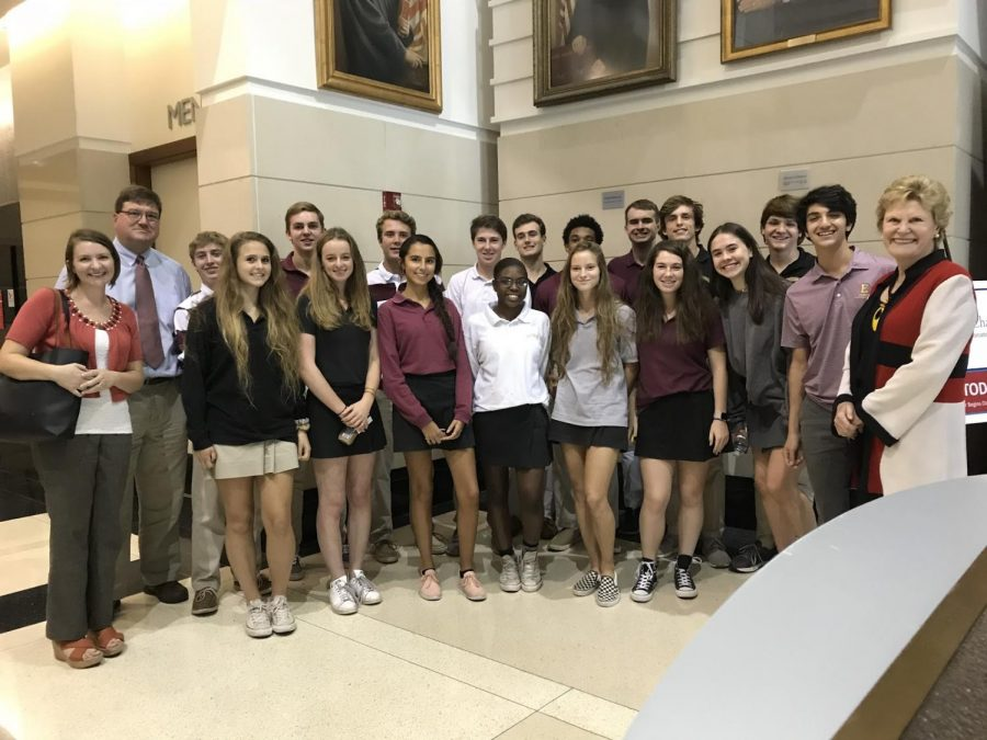 AP Government Students Visit The Jacksonville Federal Courthouse