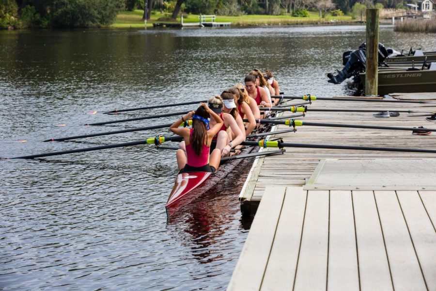Women's Rowing V8