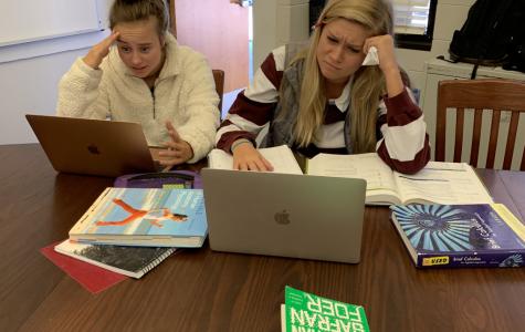 The End Of Semester Struggle